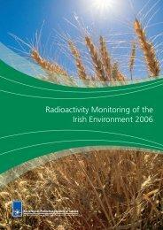 Radioactivity Monitoring of the Irish Environment 2006