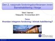 Konferansen - Ous-research.no