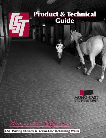 Technical Guide Book - CST Pavers