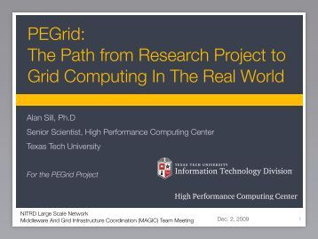 MAGIC Team 2009-12-02 Alan Sill.pdf - DocDB - Open Science Grid