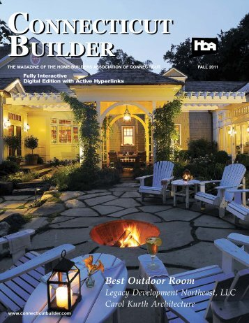 Connecticut Builder - Fall 2011 Issue