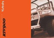 kubota utility vehicle - J & D Daly machinery sales. Construction ...