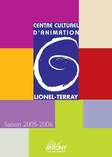 BROCHURE LIONEL TERRAY - Ville d'Antony