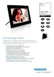10FF3CDW/00 Philips PhotoFrame - Snogard