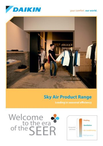Sky Air brochure - Daikin