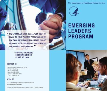 emerging leaders program - Center for Public Health Initiatives