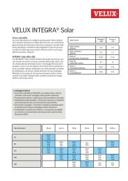 VELUX INTEGRA® Solar - VELUX Schweiz AG