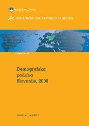 Demografska podoba Slovenije, 2008 - Statistični urad Republike ...