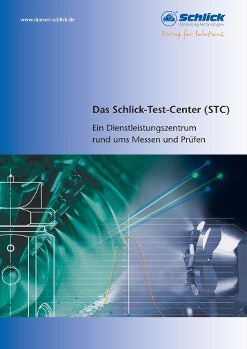 Das Schlick-Test-Center (STC) - Düsen-Schlick GmbH