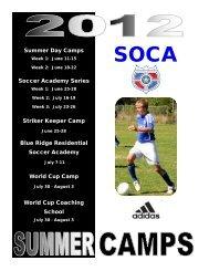 SOCA Summer Camp Brochure