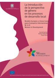 La introducción de la perspectiva de género en los procesos de ...