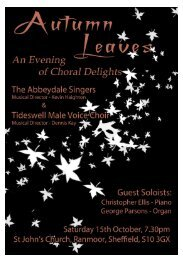 2011-10-15 Autumn Leaves Programme.pdf - Abbeydale Singers