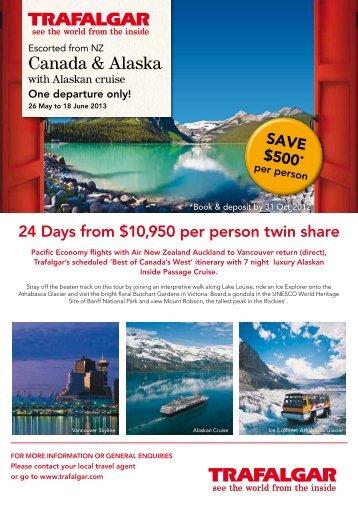 Canada & Alaska - Searle Travel