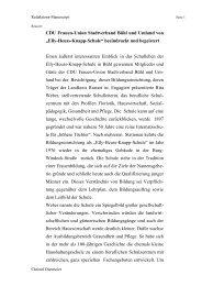 Elly-Heuss-Knapp-Schule - CDU Stadtverband Bühl