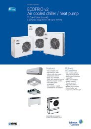 ECOFRIO v2 Air cooled chiller / heat pump