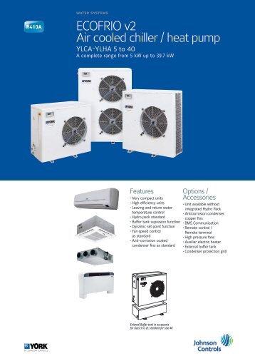 ECOFRIO v2 Air cooled chiller / heat pump