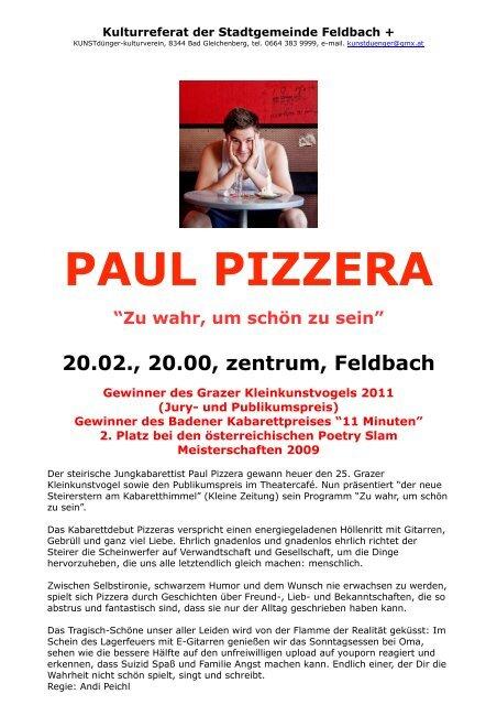 Sie sucht Ihn in Feldbach - kostenlose Kontaktanzeigen
