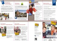 aktuelle Broschüre der Hanau Marketing GmbH (Stand: 05/2013)