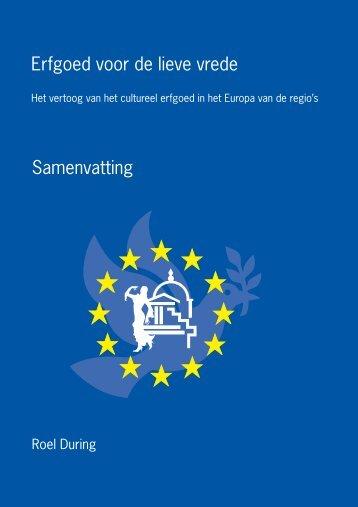 Proefschrift drs. R. During over de rol van - Europa NU