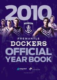 FD385a Year Book 2010 - Fremantle Football Club