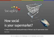 Individual brand assessments - Sociagility
