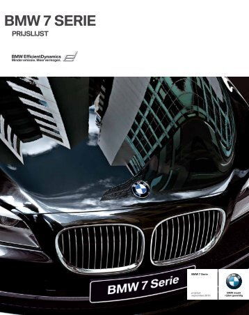 BMW 7 SERIE - EU-Import