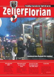 FLORIAN 77_April 2008 - Freiwillige Feuerwehr der Stadt Zell am See