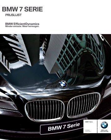 BMW 7 SERIE - EU-Import