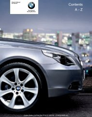 Online Edition for Part-No. 01 41 0 158 518 - © 09/04 BMW ... - 5Series