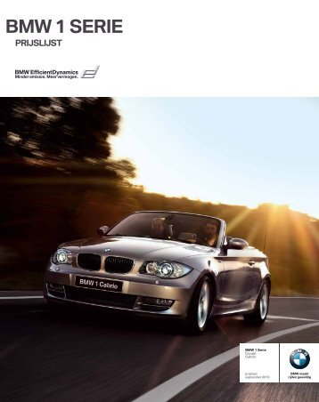 BMW 1 SERIE - EU-Import