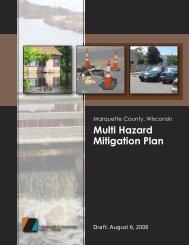 Multi Hazard Mitigation Plan - Marquette County