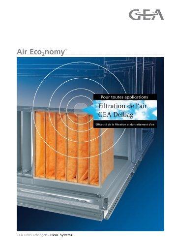 Brochure commerciale gamme des filtres - GEA Happel Belgium