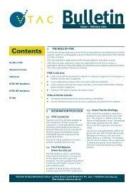 VTAC Bulletin - February 2001