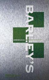 & restaurant - Barley's Brewhaus