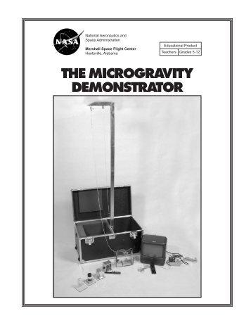 THE MICROGRAVITY DEMONSTRATOR - Virtual Astronaut