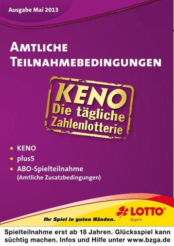Lotto Bayern Keno
