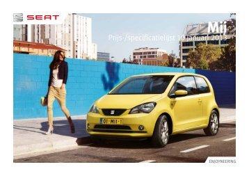 Prijslijst SEAT Mii per 10-01-2013.pdf - Fleetwise