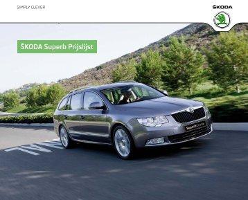 Prijslijst SKODA Superb per 01-07-2012.pdf - Fleetwise