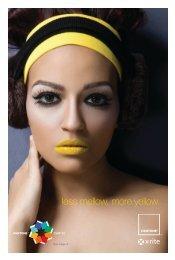 less mellow, more yellow. - Pantone
