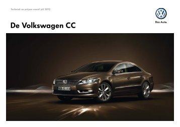 Prijslijst Volkswagen CC per 01-07-2012.pdf - Fleetwise