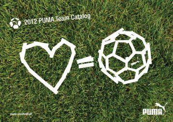 2012 PUMA Team Catalog - Soccerloco