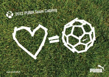 2012 PUMA Team Catalog - Soccerloco