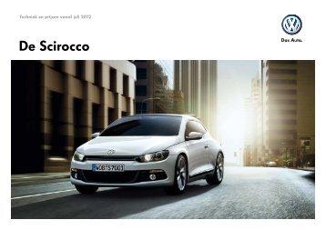 Prijslijst Volkswagen Scirocco per 01-07-2012.pdf - Fleetwise