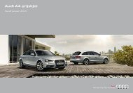 Audi A4 prijslijst - Fleetwise
