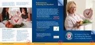 'Setting the Standard' Hospitality leaflet - Scottish Tourism Alliance