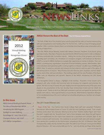 Issue 1 - Arizona Womens Golf Association