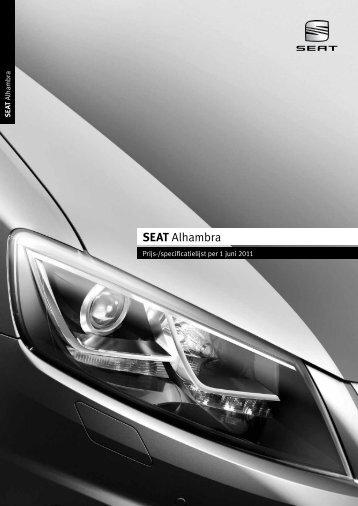 Prijslijst SEAT Alhambra per 01-06-2011.pdf - Fleetwise