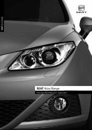 Prijslijst SEAT Ibiza PL per 01-03-2011.pdf - Fleetwise