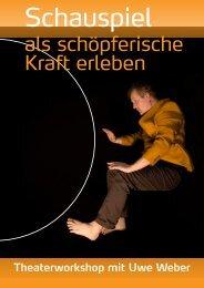 Schauspiel - Uwe Weber