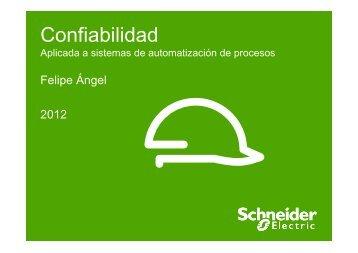 (Confiabilidad - Sistemas de Automatización) - Schneider Electric